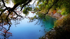 Colorful Bay (endresárvári) Tags: croatia bay colorful colorfulbay rain rock sea adria lungomare