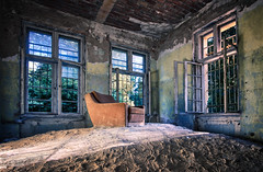 Take a seat, be my guest (Sabine.R) Tags: sony samyang12mm urbanexploration abandoned urbex forgotten lostplacesgermany