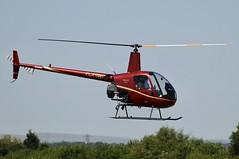 G-OBIO (LIAM J McMANUS - Manchester Airport Photostream) Tags: gobio goexclusive robinson r22 beta robinsonr22 helicopter cityairportmanchester barton egcb