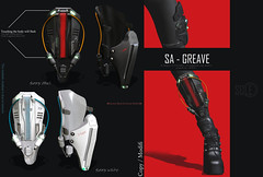 [ON SALE] SA - greave! (shoukokanto) Tags: secondlife second life scifi cyberpunk sf steampunk cyber armor glow neon headset gear tech high technology hightech girl cybergirl cyberpunkgirl cyberpunkwoman 3dmodeling modeling japan asian サイバーパンク サイバー スチームパンク sole 2nd virtualwold game sexy fire hammer steam cloud mist glove deep coolgirl dusty armtech armlet smoke badgirl lightning thunder soleaccessory arm rain monitor blue cute pretty lovely cyborg gynoid drool tears mesh maitreya star cyberarm kawaii セカンドライフ people photo rainy rainyday portrait jetpack jet greave
