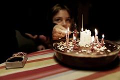 1+8= ... (pierangeli26) Tags: birthday anniversaire light lumière enfance