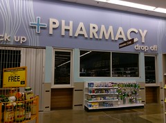 Pharmacy (with health & beauty reflected in the windows) (l_dawg2000) Tags: 2018remodel cordova delicatesen grocery grocerystore healthbeauty kroger labelscar marketplace meats memphis pharmacy produce remodel retail scriptdécor shelbycounty supermarket tennessee tn trinitycommons cordovamemphis unitedstates usa
