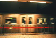 No time (joanne z.) Tags: metro subway moving transportation people city athens street youth nikond3400