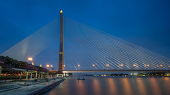 Rama VII Bridge (Star Wizard) Tags: bangkok krungthepmahanakhon thailand th