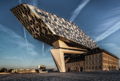 Port Authority Antwerp (mcalma68) Tags: antwerpen architecture port authority havangebouw havenhuis zaha hadid