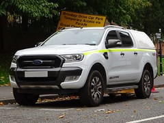 Staffordshire Police Unmarked Ford Ranger, Birmingham City Centre. (Vinnyman1) Tags: staffordshire police unmarked ford ranger staffs working at heights protester removal team west midlands birmingham city centre wmp emergency services service rescue 999 england uk united kingdom gb great britain operation pelkin prime minister conservative party conference tory tories 2018