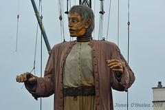 Giant (James O'Hanlon) Tags: giants giant liverpool spectacular liverpoolspectacular liverpoolsdream dream liverpools 3 3giants threegiants new brighton newbrighton wirral beach fortperchrock royal de luxe royaldeluxe jeanluc courcoult jeanluccourcoult dog walk drink