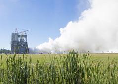 NASA Continues Fall Series of RS-25 Engine Tests (NASA's Marshall Space Flight Center) Tags: nasa nasas marshall space flight center msfc launch system sls moon mars rocket