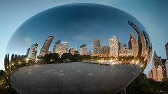 Cloud Gate A.M. (Moon Man Mike) Tags: october autumn chicago city cloudgate fall ferriswheel mileniumpark pugetsoud reflection seattle skyline sound bean thebean