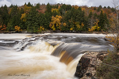 Table Rock Rapids (Kevin Tataryn) Tags: riviere rouge river water flow longexposure smooth rapids waterfall grenville quebec canada landscape outdoors nature forest fall autumn colours change nikon d500 1755
