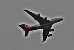 Qantas (damoN475photos) Tags: qantas aeroplane plane melbourne 2018