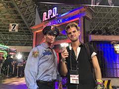Tokyo Game Show 2018 (BadToxic) Tags: japan japan2018 japanreise japanese japanisch tgs tokio tokyo tokyogameshow chiba 日本 nihon nippon tōkyō 東京 vacation urlaub travel badtoxic michi michael mgr cosplay verkleidung zombie residentevil biohazard rpd racooncity