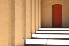 afternoon sun (bnbalance) Tags: reddoor red door minimal minimalism