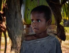 Village Boy (Rod Waddington) Tags: madagascar malagasy boy culture cultural child ethnic ethnicity portrait outdoor palm trees village fishing people candid