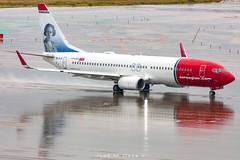 Norwegian B737-8JP EI-FJY (José M. Deza) Tags: 20181018 b7378jp bcn boeing eifjy elprat lebl norwegain planespotting spotter aircraft