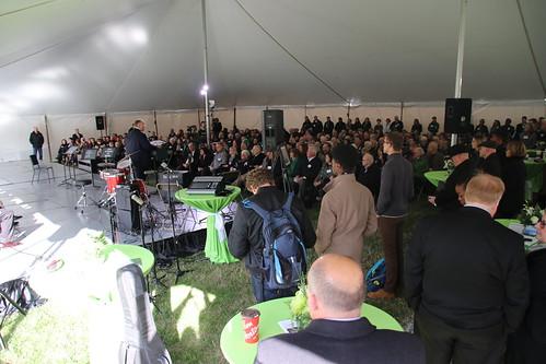 Music Pavilion Groundbreaking, October 2018