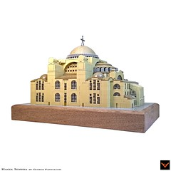 Hagia Sophia (ZetoVince) Tags: vince zeto zetovince greece greek orthodox church christian hagia sophia ayasofya temple museum mosque constantinople istanbul lego moc architecture gricks byzantium byzantine roman empire eastern microscale monument holy wisdom divine