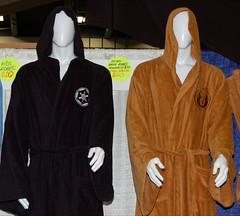 Sci-Fi Robes (earthdog) Tags: 2011 wondercon wondercon2011 mosconecenter robe clothing merch shopping nikond50 nikon d50 1855mmf3556 indoor sanfrancisco convestioncenter starwars needstags needstitle