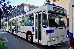 Trolleybus NAW BT-25 n°768 en Formation. © Marc Germann (Marc Germann) Tags: trolleybus naw bt25 ligne17 hesskièpe hessag nawhess nawhesssiemens fbw rétrobus transportspublics transport tl lausanne mercedescitarobenz flirt train leb par brise routes bus convois remorques autobus man articulé historic autopostale