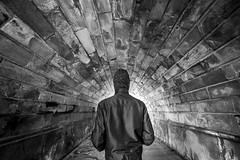 ... (Stefano Montagner - The life around me) Tags: lensonstreets alphacollective cityexplore london londra sonyalpha sonyimages streetview urban men people blackandwhite males oneperson adult dirty outdoors onemanonly standing portrait onlymen street urbanscene wallbuildingfeature
