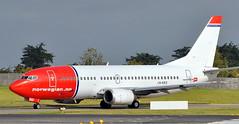 Boeing 737-33V LN-KKD (707-348C) Tags: dublinairport dublin dub boeing airliner jetliner boeing737 b733 lnkkd norwegianairshuttle eidw nax passenger ireland norwegian 2011