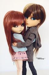 """She's mine"" (·Yuffie Kisaragi·) Tags: doll dolls pullip zuora ashley taeyang seiran kyle obitsu rewigged rechipped"