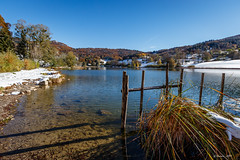 Neige ... d'automne (Savoie 10/2018) (gerardcarron) Tags: arbres automne autumn bauges canon80d ciel eau forest foret lacthuile landscape lathuile nature neige paysage savoie