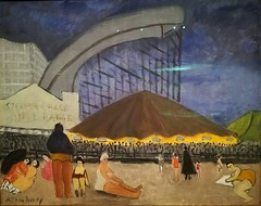 Milton Avery (American 1885-1965),The Steeplechase,Coney Island,1929,oil on canvas (marcos2077) Tags: metropolitanmuseumofart