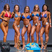 Open Bikini B - 4th Veronika Surmak, 2nd Emily Smith, 1st Anna Rebrenovic, 3rd Nicole Robinson, 5th Cheila Monteiro