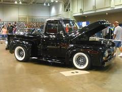 1955 Ford F-100 (splattergraphics) Tags: 1955 ford f100 pickup truck custom carshow endlesssummercruisin oceancitymd
