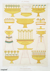 Crater vases from Histoire de l'art égyptien (1878) by Émile Prisse d'Avennes (1807-1879). Digitally enhanced by rawpixel. (Free Public Domain Illustrations by rawpixel) Tags: otherkeywords anillustrationoftheegyptian ancestry ancient ancientegyptian ancientegyptianart antique archaeological archeology art artwork cc0 crater design designing drawing dynasty egypt egyptian egyptiandesignvase egyptiankingdom egyptianpottery egyptology empire handdrawn histoiredelartégyptien historical history illustration interior kingdom mythology objects old oldfashioned outlines outlinesfromtheantique pattern pottery psd sepia sketch story traditional vases vintage émileprissedavennes