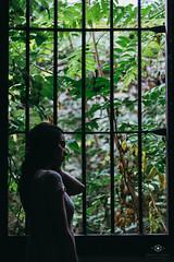 Guardiana del bosque. (Arantxa Signes Fotografía) Tags: forest nature abandoned abandonedfactory guardian muse valencia model