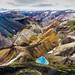 Colorful Mountains (nt Kreations) Tags: iceland colorful colors colorfulmountains mountains highlands landmannalaugar