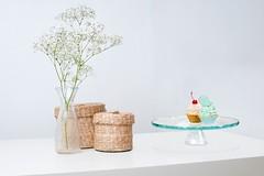 Plaque à gâteaux Dahlia 210 verre (emmanuel_delahaye) Tags: plats mobilier deco arte recollection decointerior interiordesign design home