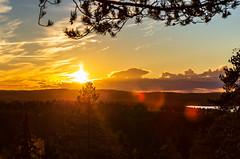 Sunset in Kuopio on October 4 (VisitLakeland) Tags: finland kuopio kuopiotahko lakeland auringonlasku forest luonto luontokohde maisema metsä nature outdoor scenery sunset