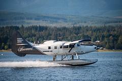 20180815_0049_1 (Bruce McPherson) Tags: brucemcphersonphotography harbourair turbootter floatplane sailing cruising baynessound comoxharbourauthority comox bc canada