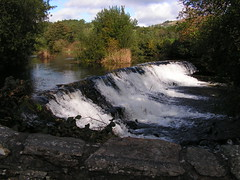 PICT0001 Weir on River Kent, Staveley (Anand Leo) Tags: barleybridge halllane staveley cumbria riverkent