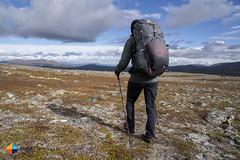Good view, fast hiking (HendrikMorkel) Tags: sweden vålådalen åre gregoryoptic48 lightweightbackpack backpacking backpack gregory optic48backpack