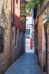 Some more narrow streets in Venice Italy.