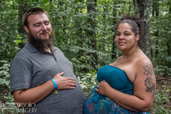 (incogneato.imagery) Tags: pregnancy parent motherhood mother to be maternity shoot photoshoot pregnant belly mothertobe pregnancyphotography pregnancyphotos maternityshoot maternityphotos parents father parenthood fatherhood fathertobe familyportrait outside nature outdoor natural lighting naturallighting outdoorsession outdoorphotoshoot tattoo tattooed blue lace dress maternitydress artemas pa pennsylvania 2018 four quarters farm 4qf interfaith sanctuary trees leaves stomach body paint bodypaint painted