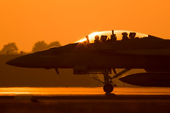 Top Gun at Lakenheath (Nick Collins Photography, Thanks for 3 million vie) Tags: boeing fa18f super hornet usaf usa usafe usn aircraft aviation flying military canon 7dmk2 sigma 150600 sunset topgun
