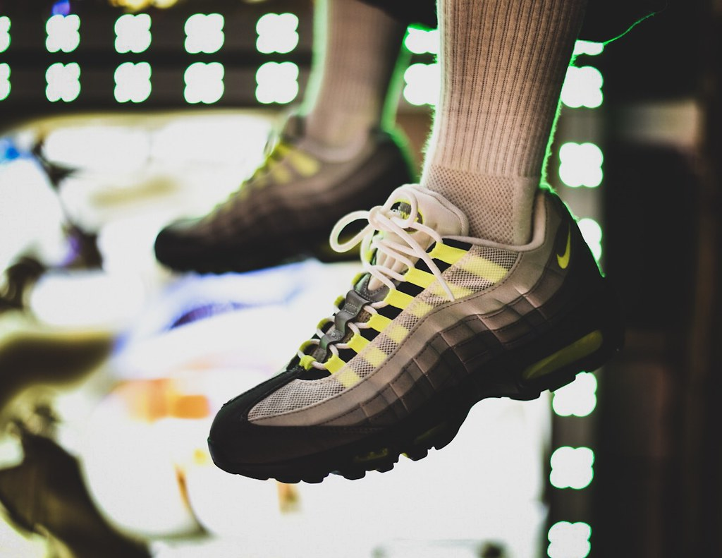 low priced 8d2e9 4d1f4 Air Max 95 Yellow Gradation (SOLE SHOOTERS) Tags  airmax95 nike