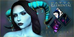 - Elemental - 'Celestial Horns' Advert (elemental.business.sl) Tags: fantasy theunderdogevent underdogevent underdog roleplay rp horns demon devil occult pagan dark goth gothic vamp vampire