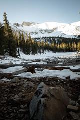 Teresa Lake (Yildunstar) Tags: teresalake greatbasin hiking snow mountains landscape nevada