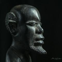 365-2018-265 - Carved head (adriandwalmsley) Tags: nigeria carvedhead sculpture