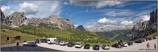 Day 12 • Dolomiten, Grödnerjoch Panorama