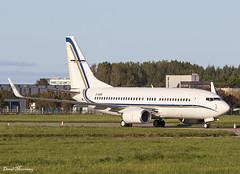 GainJet 737-700(BBJ) 2-SGSG (birrlad) Tags: shannon snn international airport ireland aircraft aviation airplane airplanes bizjet private passenger jet parked apron ramp gainjet 2sgsg boeing b737 737 737700 7377h6bbj bbj