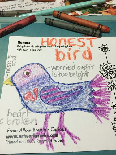 Honest bird