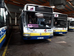 Renault Agora S GNV n°402 et 403 (alexandrebertrand60) Tags: bus dépôt stde dkbus dunkerque agora s gnv l renault irisbus