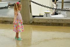 Playing in puddles (radargeek) Tags: hiltonheadisland sc southcarolina 2018 june rain raining child kid harbourtown